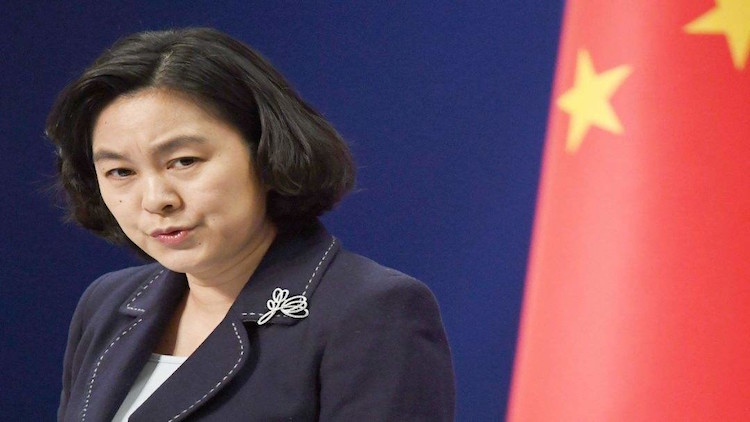 China Hits Out At US For Provoking Mass Hysteria W