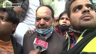 Delhi Polls: Congress Workers Protest Against Tick