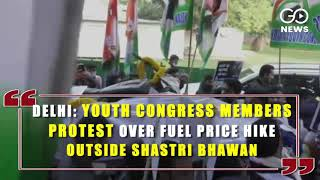 Bengaluru: Congress Stages Protest Over LPG Price