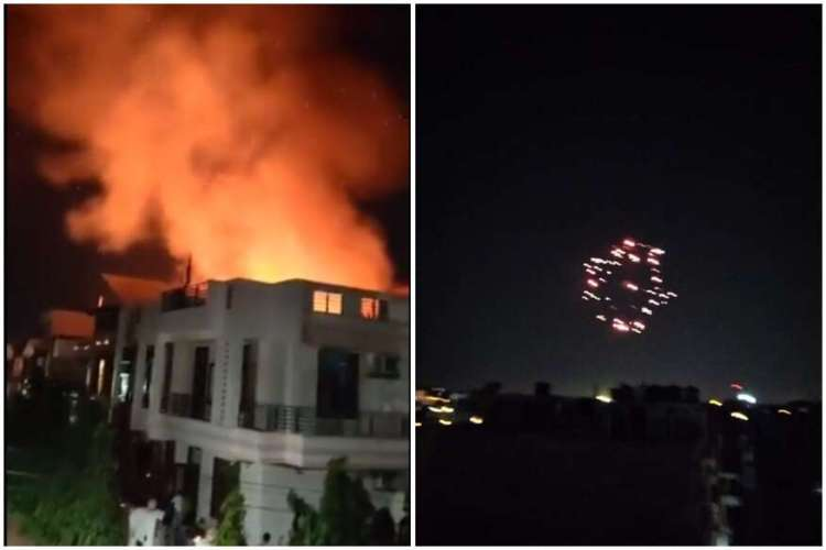 modi asked to lit diyas, not to burn crackers
