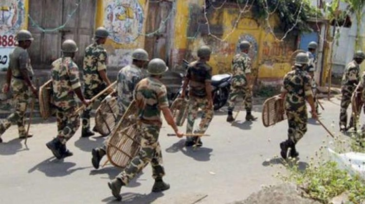 10 CRPF contingents leave for Assam to deal with f