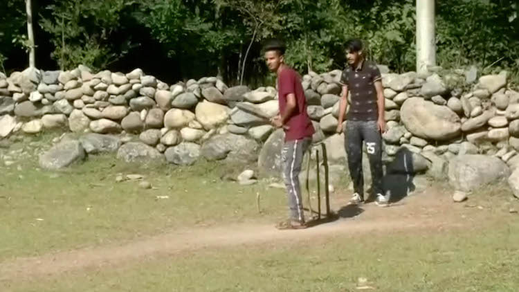 Cricket Amid Tense Situation In Kashmir