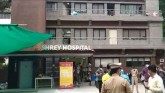 Eight patients died in a fire at the Corona hospit