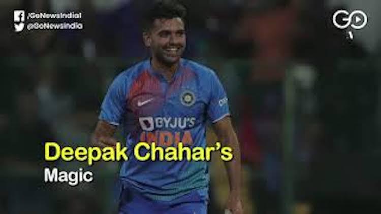 Deepak Chahar's Heroics Against Bangladesh