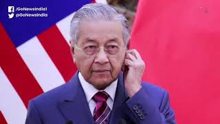 Malaysian PM Mahathir Pays The Price For Speaking
