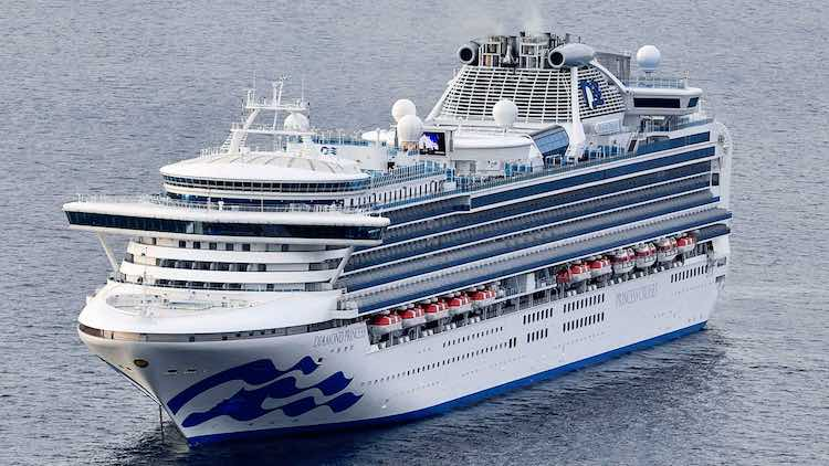 Japan: Cruise Ship Quarantined After 10 Test Posit