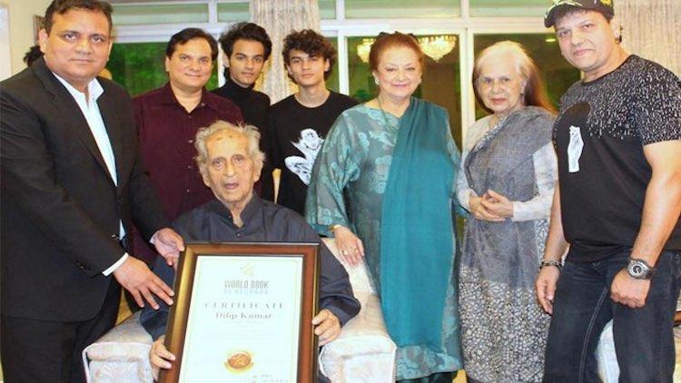 Legendary Dilip Kumar Honoured By World Book Of Re