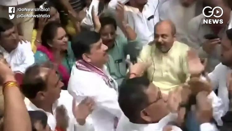 AAP-BJP Clash In Delhi's Kalkaji Over Chhath Puja