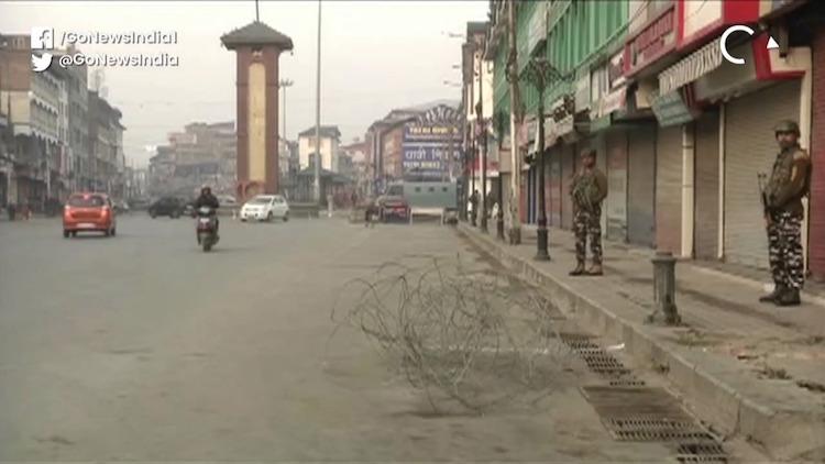 J&K and Ladakh Union Territories Born, Protest