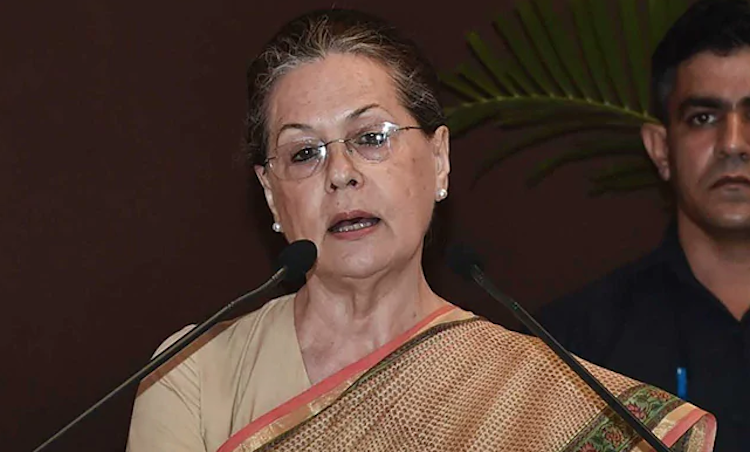 Sonia Gandhi's fiery attack on BJP, said- BJP is s