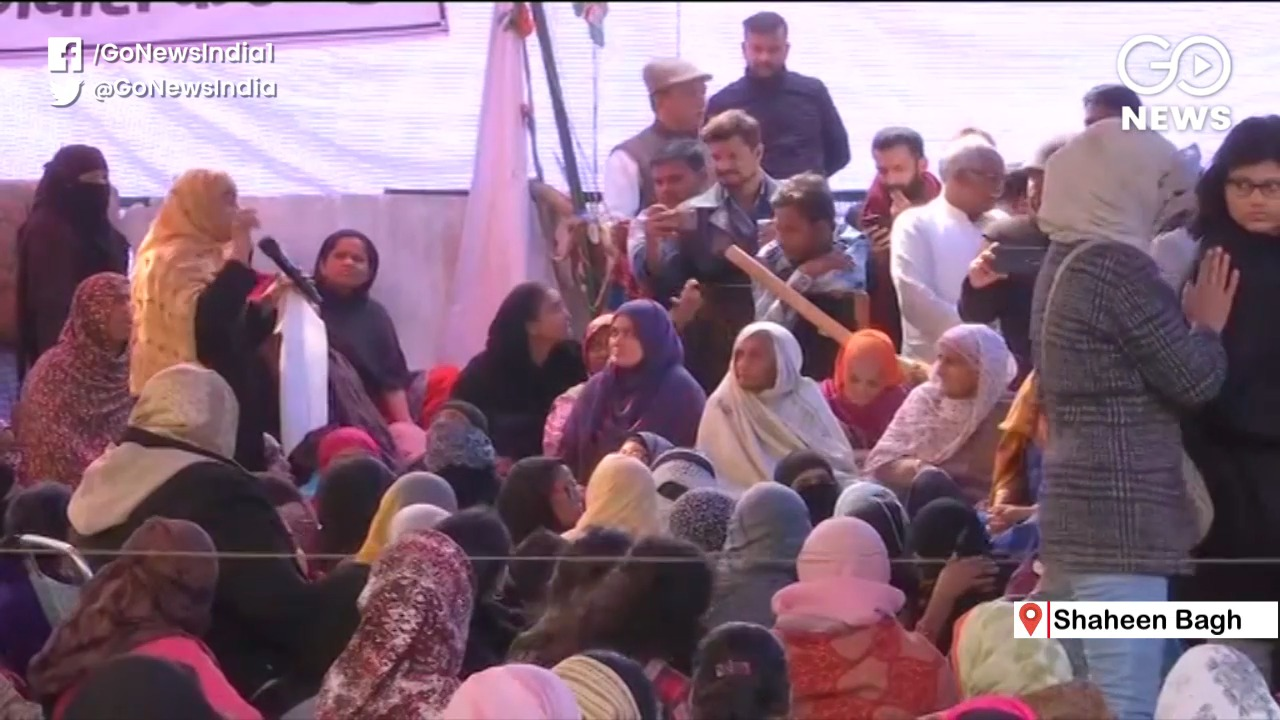 Mediator Meets Shaheen Bagh Protesters