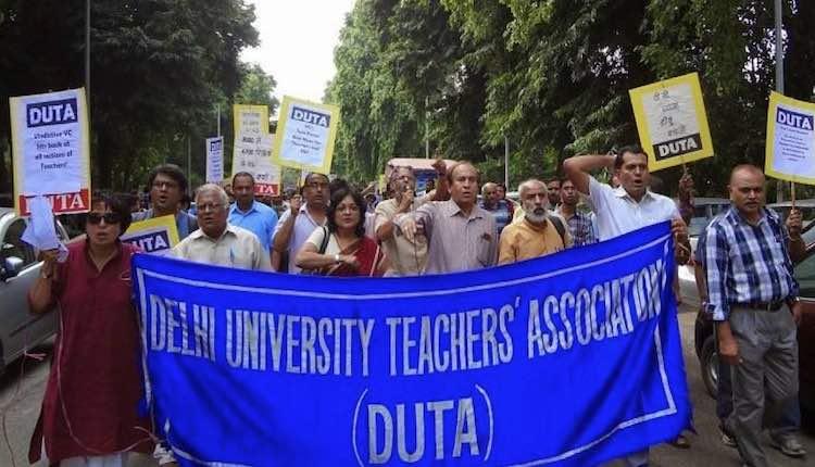 DU's 4,500 teachers in danger, DUTA calls strike