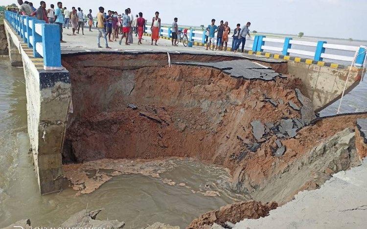 Bihar: Bridge Constructed 29 Days Ago at a Cost of