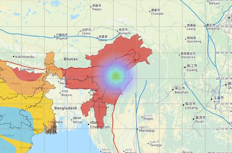 Mizoram Rocked by 23rd Earthquake in Five Weeks, P