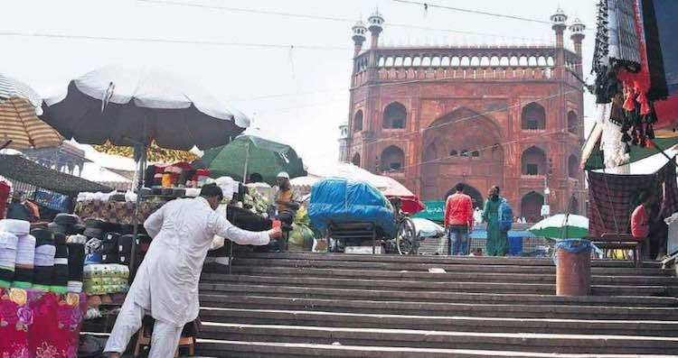 Markets Silenced, no glory of eid