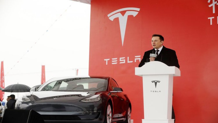 Tesla Delivers First China-Built Cars In Just Unde