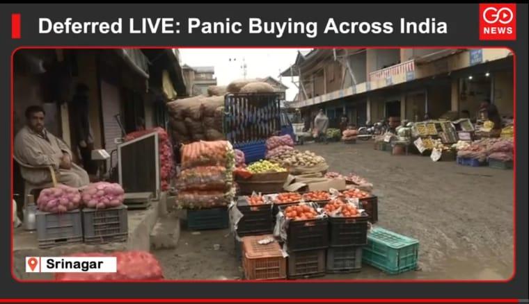 Deferred LIVE: Panic Buying Across India
