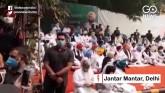 Amarinder Singh Leads Protest At Jantar Mantar Aga