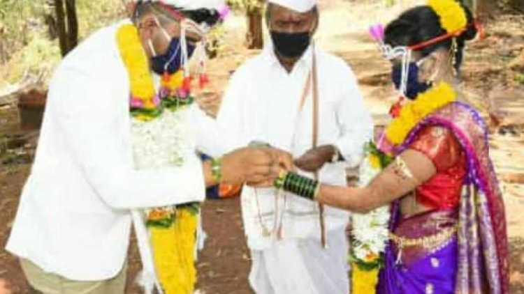 CRPF jawan got married on Facebook, donated all th