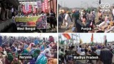 'Rail Roko' Protest Remains Peaceful, Farmers To C