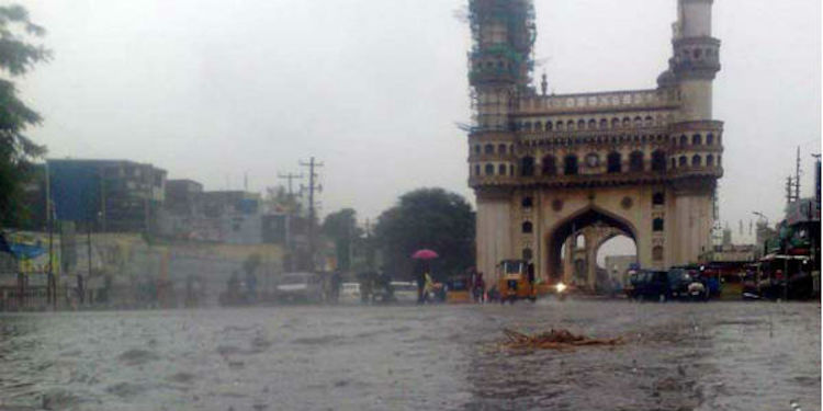 At Least 15 Dead In Hyderabad Flash Floods