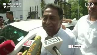 Kamal Nath Meets MP Governor Amid Political Turmoi