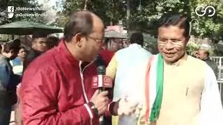 Chhattisgarh CM & Cabinet Meets Sonia Gandhi A