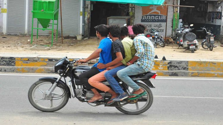 Gujarat Govt Scraps Fine On Riding Two-Wheelers W