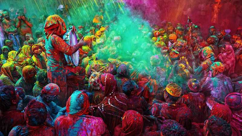 Holi Celebrations Begin In Uttarakhand And Nepal