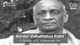 India's 'Iron Man': Remembering Sardar Patel On Hi