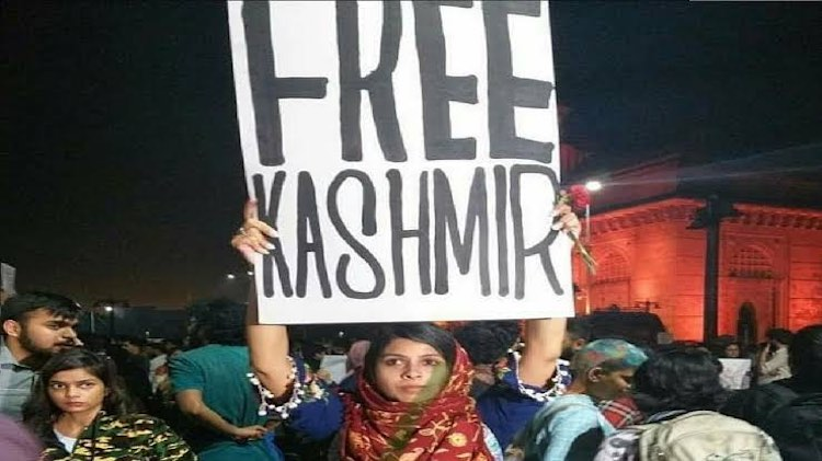 Story Behind The 'Free Kashmir' Poster That Sparke