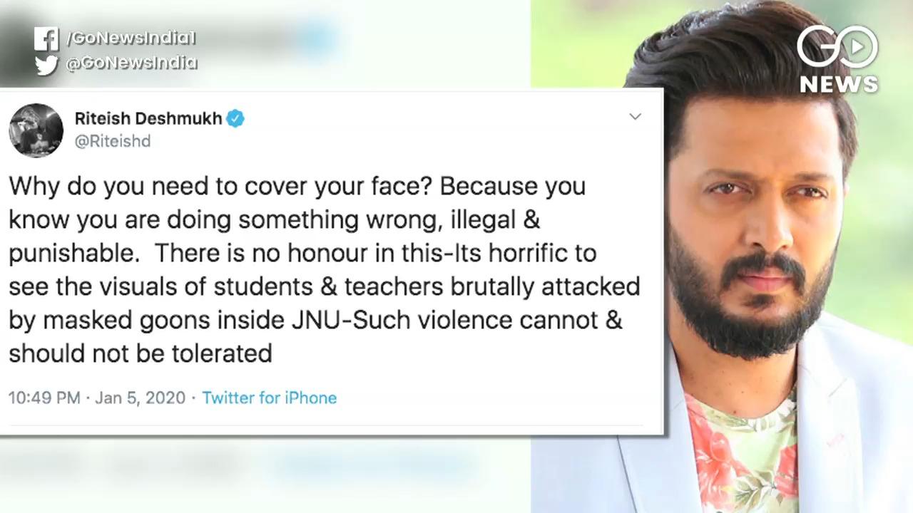 Bollywood Stars Condemn JNU Violence