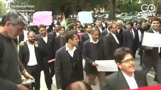 Delhi Riots: Lawyers Protest Demanding Action Agai
