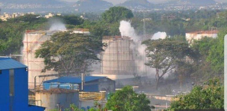 Gas leak at Andhra Pradesh chemical plant, eight k