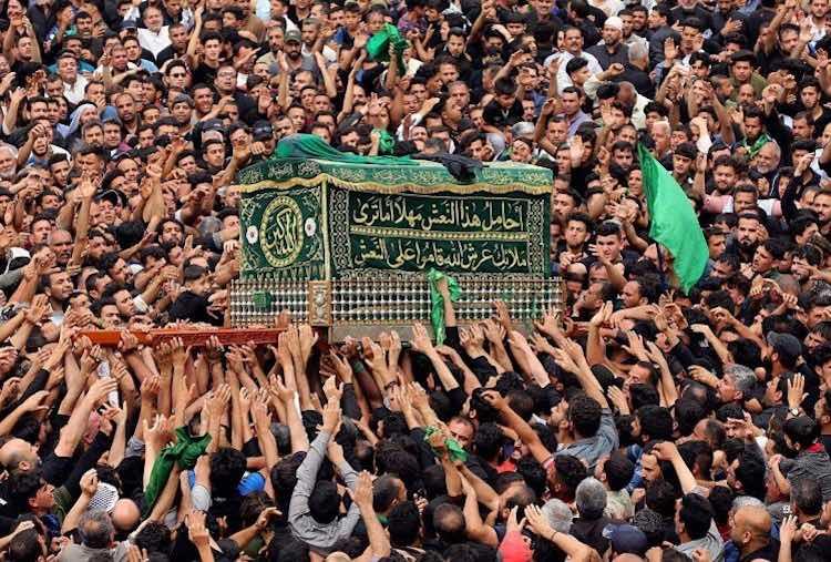 General Sulemani's funeral in Iran, stampede, 35 k