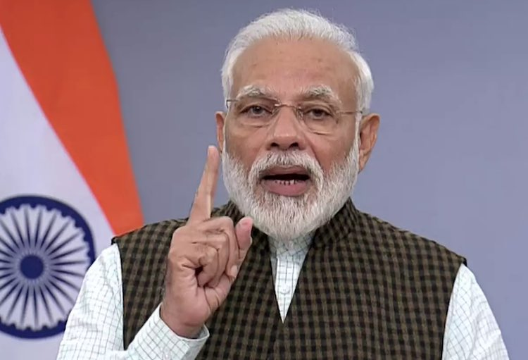 Platter and bell rang during Janata curfew, PM Mod