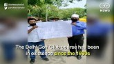 Sacked Delhi Golf Club Workers Stage Protest