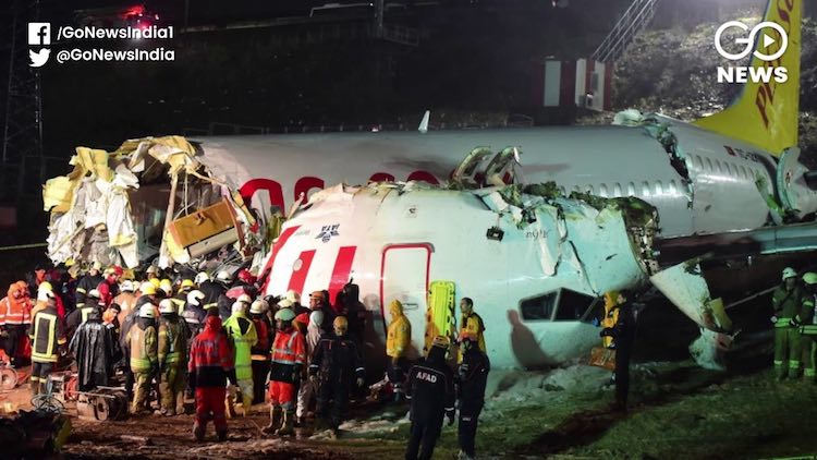 Three Dead As Plane Skids Off Runway In Istanbul