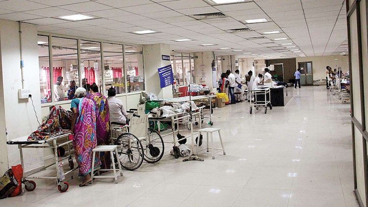 India Spends Mere 1.29% Of GDP On Health, Public H