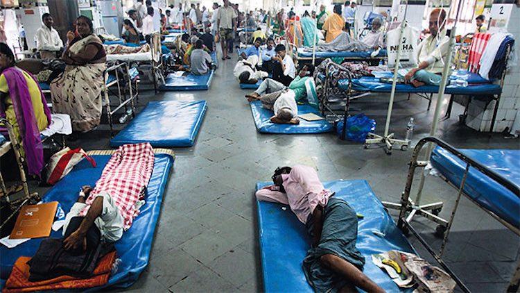 Indian Healthcare Seems Unprepared To Fight COVID-