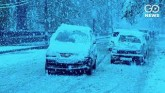 Heavy Snowfall Throws Normal Life Out Of Gear In P