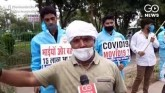 Delhi Congress Stages Unique Protest As COVID-19 C