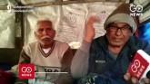 Farmers At Palwal Border Brave Freezing Cold, Rain