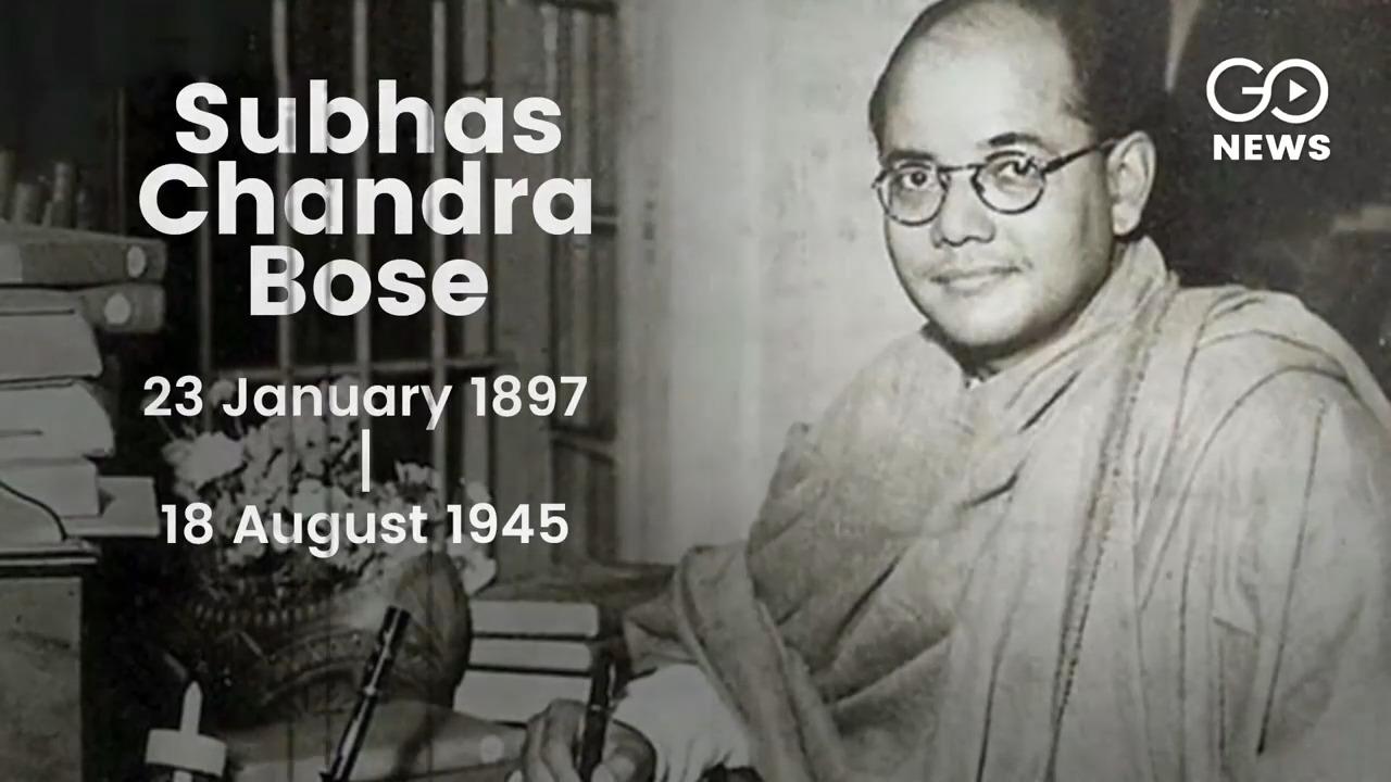 Tributes To Netaji SC Bose