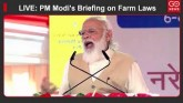 LIVE: PM Modi's Briefing On Farm Laws