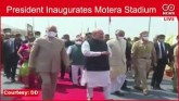 LIVE: President Kovind Inaugurates Motera Stadium