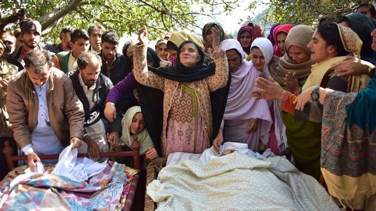 Violent October In Kashmir Valley