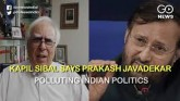 Kapil Sibal Says Prakash Javadekar Polluting India