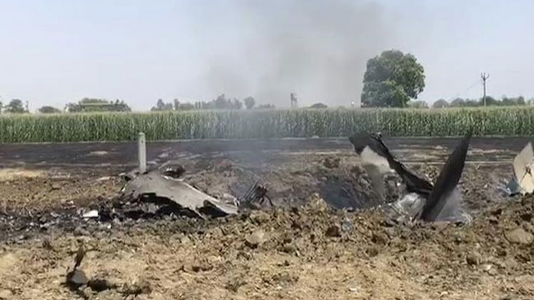 IAF MiG-29 Fighter Jet Crashes In Punjab Field, Pi