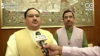 JUST IN: JP Nadda Condemns Pragya Thakur's Stateme